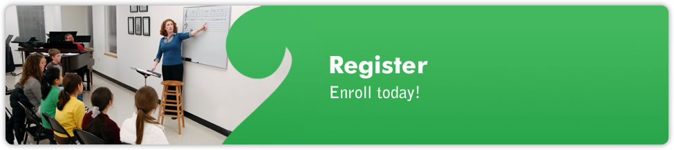 Register at The Music School of Delaware